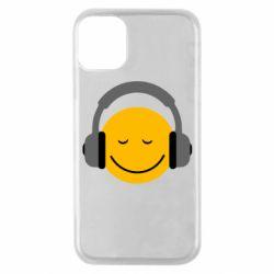Чехол для iPhone 11 Pro Smile in the headphones