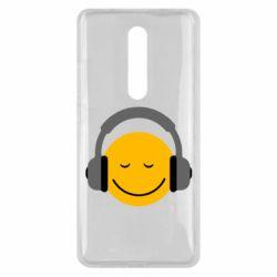 Чехол для Xiaomi Mi9T Smile in the headphones