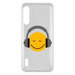 Чохол для Xiaomi Mi A3 Smile in the headphones