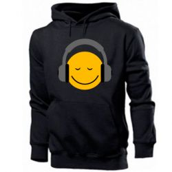 Мужская толстовка Smile in the headphones