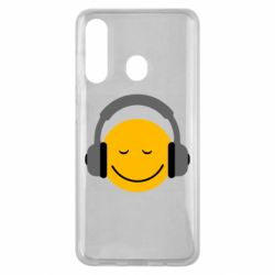 Чехол для Samsung M40 Smile in the headphones