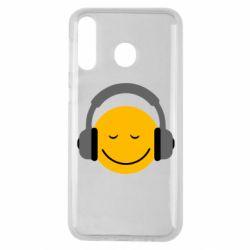 Чехол для Samsung M30 Smile in the headphones