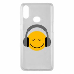 Чехол для Samsung A10s Smile in the headphones
