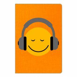 Блокнот А5 Smile in the headphones
