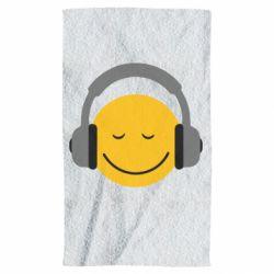Полотенце Smile in the headphones