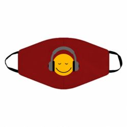 Маска для лица Smile in the headphones