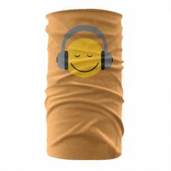 Бандана-труба Smile in the headphones