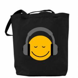 Сумка Smile in the headphones