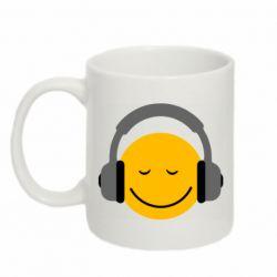 Кружка 320ml Smile in the headphones