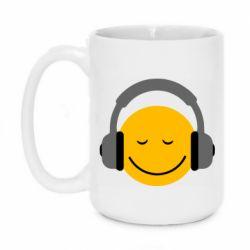 Кружка 420ml Smile in the headphones