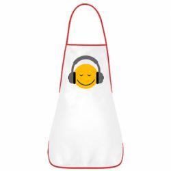 Фартук Smile in the headphones