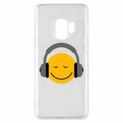 Чехол для Samsung S9 Smile in the headphones