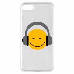Чехол для iPhone 8 Smile in the headphones