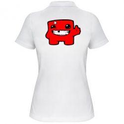 Женская футболка поло Smile! - FatLine