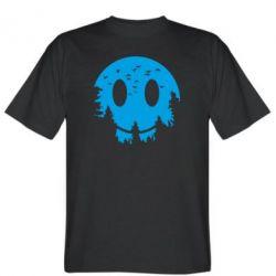 Чоловіча футболка Smiley Moon
