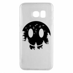 Чохол для Samsung S6 EDGE Smiley Moon