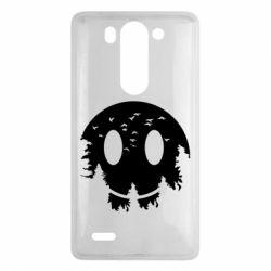 Чохол для LG G3 Mini/G3s Smiley Moon - FatLine