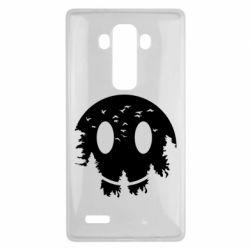 Чохол для LG G4 Smiley Moon - FatLine