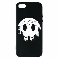 Чохол для iphone 5/5S/SE Smiley Moon