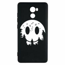 Чохол для Xiaomi Redmi 4 Smiley Moon - FatLine