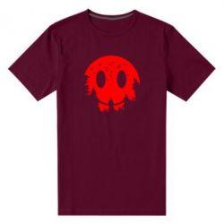 Чоловіча стрейчева футболка Smiley Moon