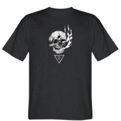 Чоловіча футболка Smoke from the skull