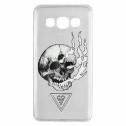 Чохол для Samsung A3 2015 Smoke from the skull