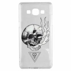 Чохол для Samsung A5 2015 Smoke from the skull