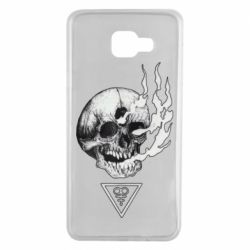 Чохол для Samsung A7 2016 Smoke from the skull