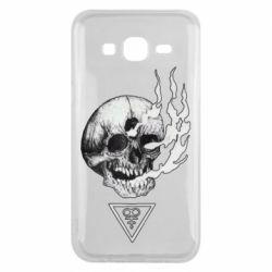Чохол для Samsung J5 2015 Smoke from the skull
