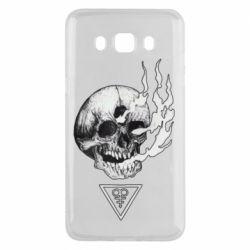 Чохол для Samsung J5 2016 Smoke from the skull