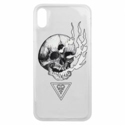 Чохол для iPhone Xs Max Smoke from the skull