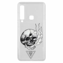 Чохол для Samsung A9 2018 Smoke from the skull