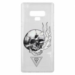 Чохол для Samsung Note 9 Smoke from the skull