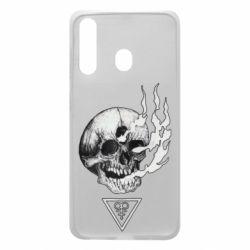 Чохол для Samsung A60 Smoke from the skull