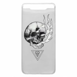 Чохол для Samsung A80 Smoke from the skull