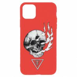 Чохол для iPhone 11 Smoke from the skull
