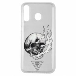 Чохол для Samsung M30 Smoke from the skull