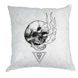 Подушка Smoke from the skull