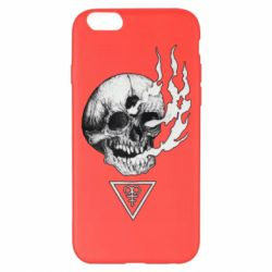 Чохол для iPhone 6 Plus/6S Plus Smoke from the skull