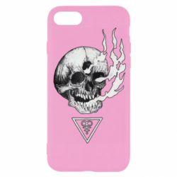 Чохол для iPhone 7 Smoke from the skull