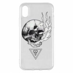 Чохол для iPhone X/Xs Smoke from the skull