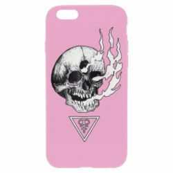 Чохол для iPhone 6/6S Smoke from the skull