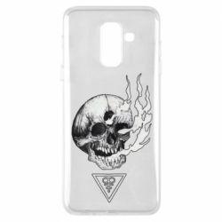 Чохол для Samsung A6+ 2018 Smoke from the skull
