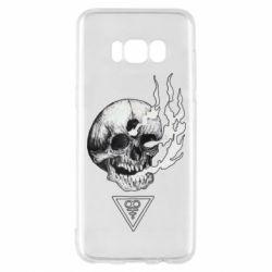 Чохол для Samsung S8 Smoke from the skull