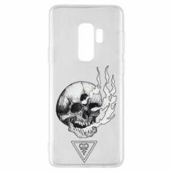 Чохол для Samsung S9+ Smoke from the skull