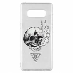 Чохол для Samsung Note 8 Smoke from the skull