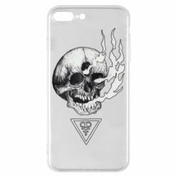 Чохол для iPhone 8 Plus Smoke from the skull
