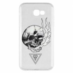 Чохол для Samsung A7 2017 Smoke from the skull