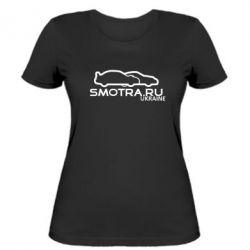Женская футболка Smotra UA - FatLine